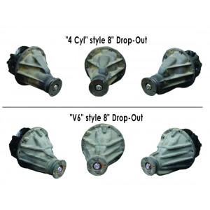 "Визуально отличие редукторов (""4 Cyl"" style 8"" Drop-Out) И (""V6"" style 8"" Drop-Out)"